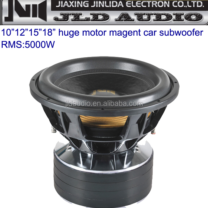 "best price for RMS 5000-10000w and DC12 Volt 10""12""15""18"" spl car speaker subwoofer"