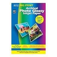 BIG PRINT 4X6 GLOSSY ARCHIVAL 25SHTS