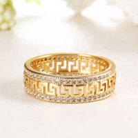 latest chinese product engagement diamond wedding dainty white 10k gold rings fashion