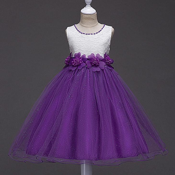 43b683cdaa3083 YY10497G Kids trouwjurk meisje pailletten jurken voor 3-14 jaar formele  glitter avondjurk
