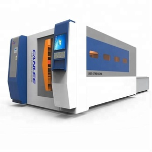 Best Price 4000w IPG, NLight, MAX, Raycus Fiber Laser Aluminum Cutting Machine With Exchange Table And Enclosed Type