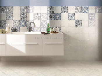 Foto Bagni Moderni Arredati.200x200mm Blu Inkjet Moderno Arredato Bagno Cucina Parete Pavimento