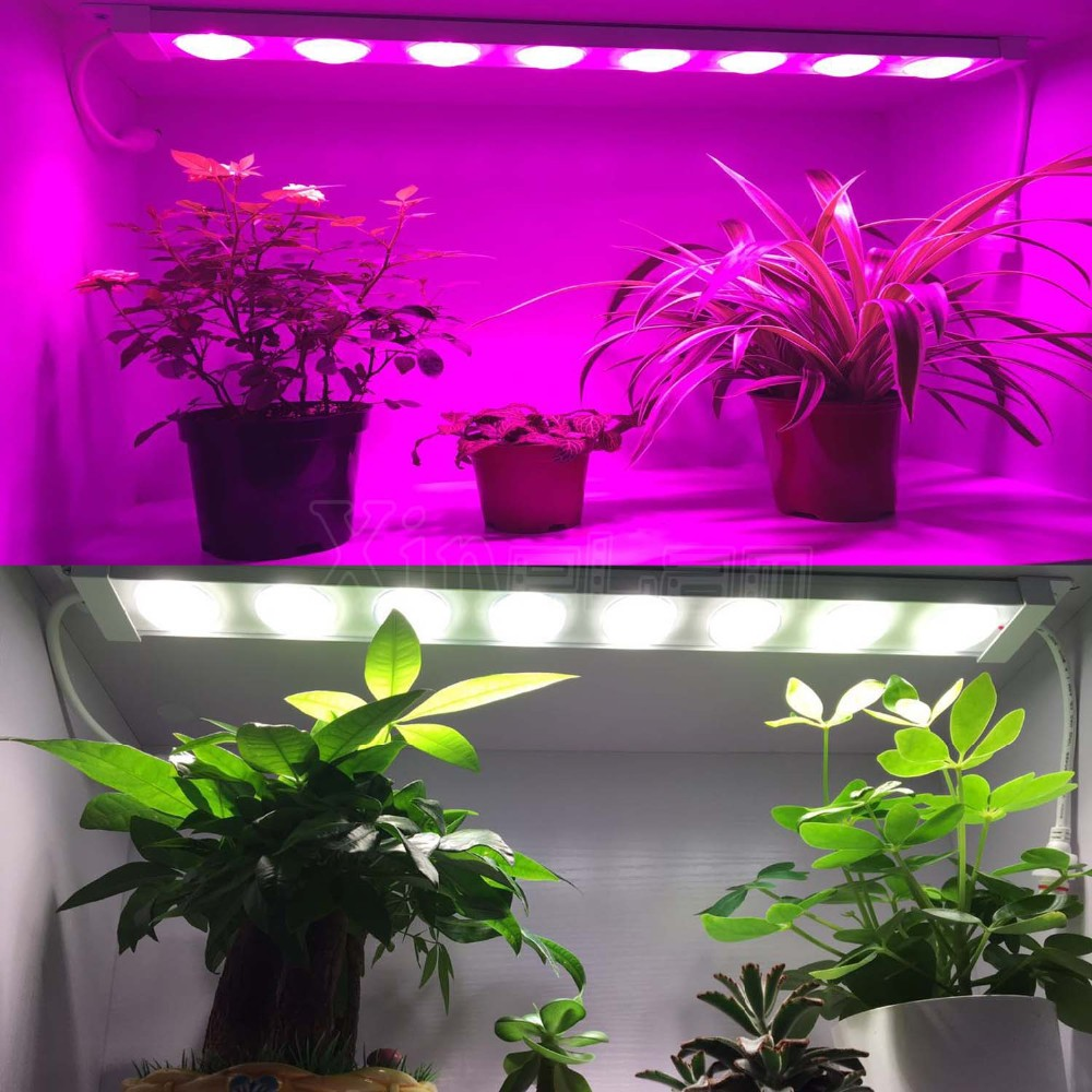 Vertical farming and cabinet planting full spectrum ip67 LED grow bar lights