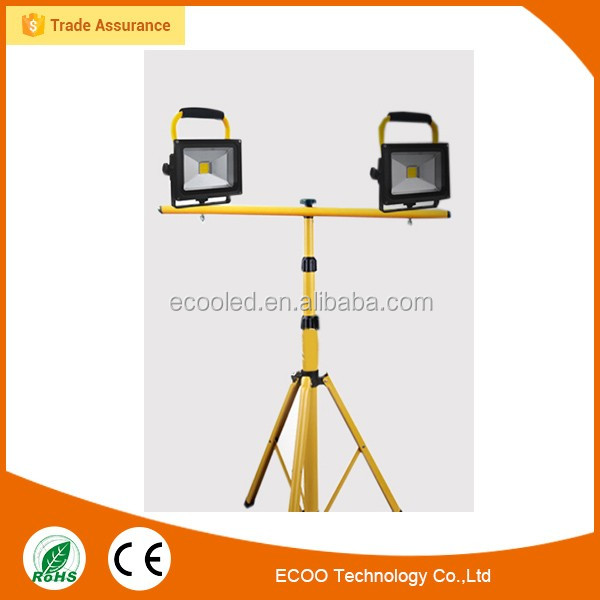 ECOO hot sale rechargeable portable industrial led work light 30W