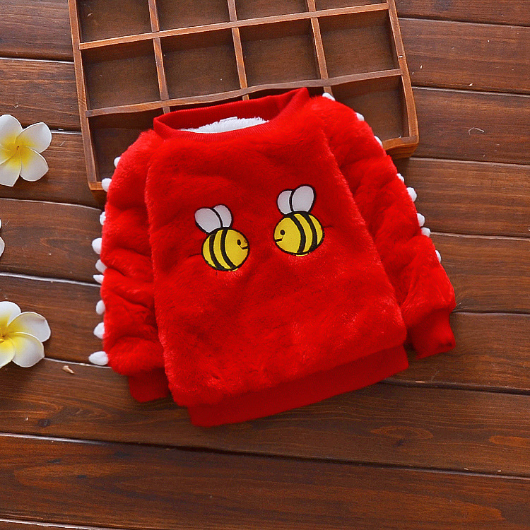 new design rabbit wool toddler baby sweater design for baby