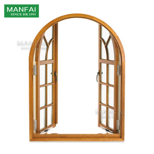 High quality factory customized round arch window