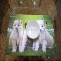 Unique design laminated table mats home goods table plate mat
