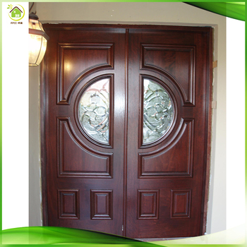American Style Wood Exterior Round Entry Doors With Glass Buy Wood