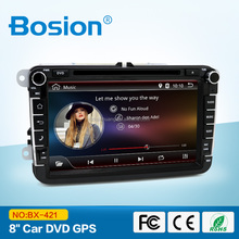 Bosion Dashboard Placement 8inch Full Touch Android 4.4 Car DVD for VW Passat Touran Car Radio with GPS Navigation System