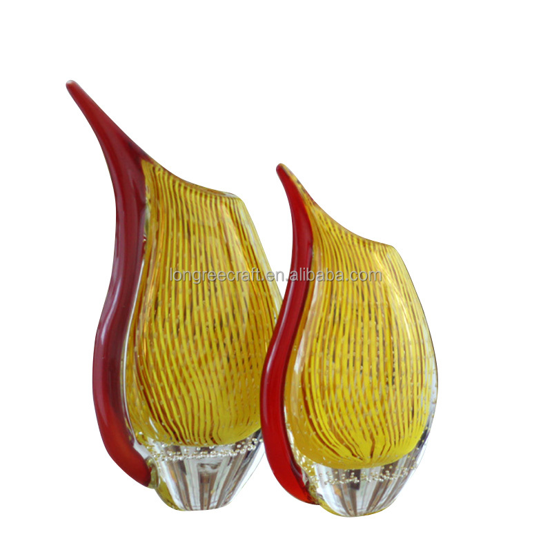 Vasos De Cristal Decorativos Al Por Mayor