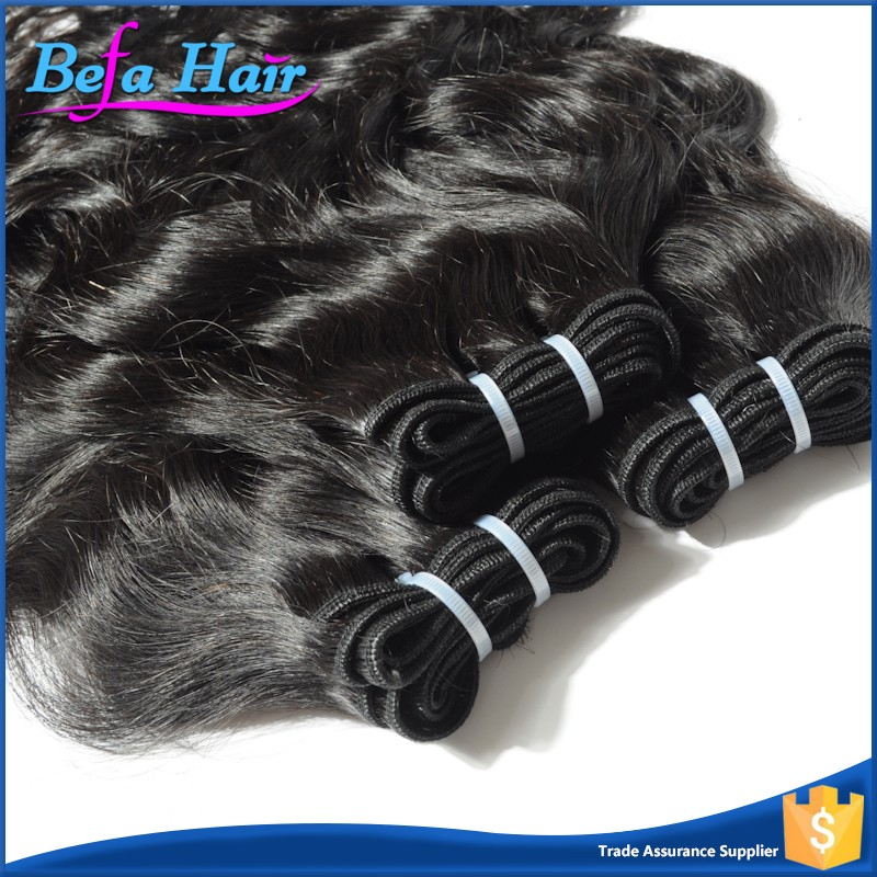 Befa Unprocessed Wet And Wavy Human Hair Weave Virgin Brazilian Hair Water Wave