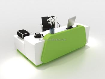 modern office reception desk. Solid Surface Modern Office Front Reception Desk Counter Design