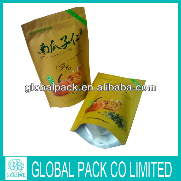 Gravure printing plastic melon seeds packaging bags