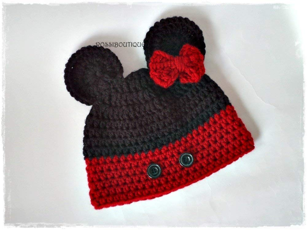 13f11545def Get Quotations · Crochet mouse hat