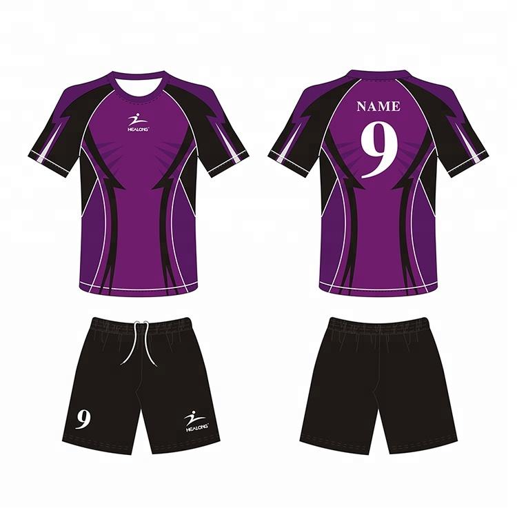 Custom Big Size 4Xl Youth Soccer Uniform Jersey Set 0ead70525