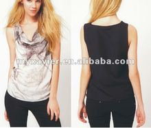 from 2012 hot product,fashion women clothing,tshirts cotton,(T1029)