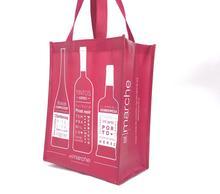 Bolsa de vino de fieltro Bolsa de vino Bolsa de embalaje botella de champ/án Bolsa de regalo de boda Bolso tote de fieltro grueso Asa de fieltro para bolsa de vino Bolsa de regalo de fieltro rojo