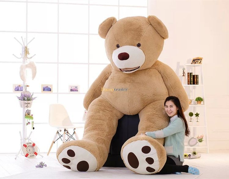 Get Quotations · Fancytrader new High Quality Super JUMBO Toy 102 Inches    260cm Huge Bear toys! 52dd3f7451