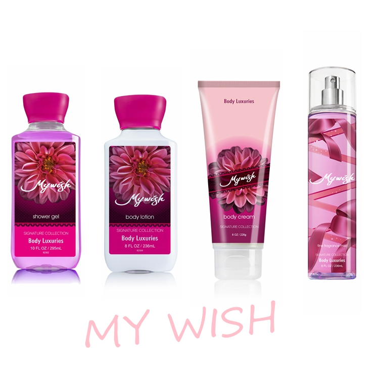 Body Luxuries Brand My Wish scent 88ml Factory ladies sex spray for women