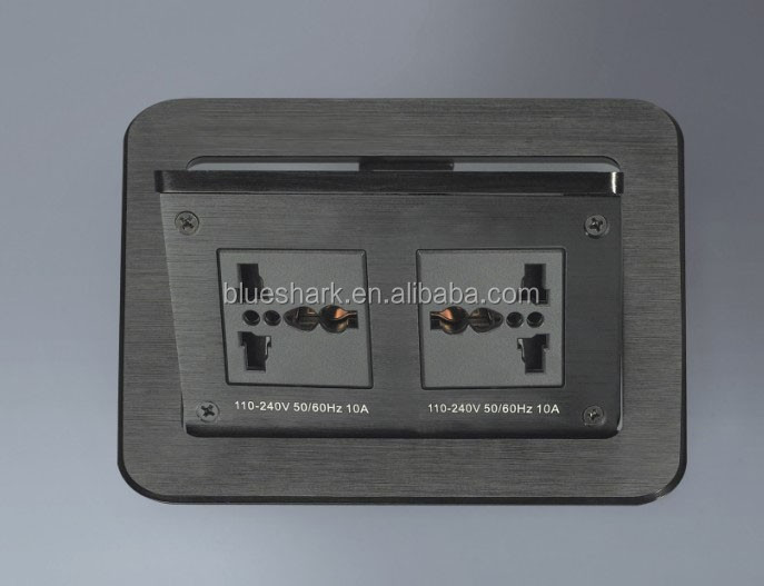Aluminium Alloy/ Steel air support Type Pop Up Table Socket