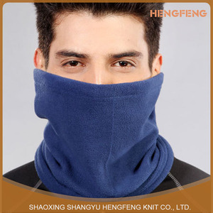 wholesale Fleece Multi-function outdoor men and women neck sets riding scarves windproof plain neck caps fleece scarf