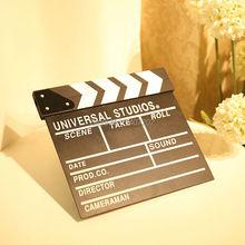 New Director Video Scene Clapperboard TV Movie Clapper Board Film Cut Prop Camera & Photo Accessories