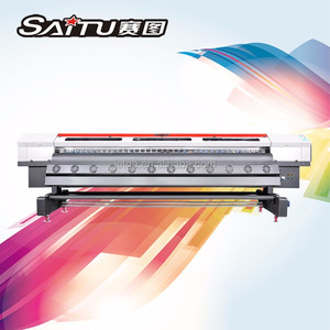 New promotion Allwin 3.2m Eco solvent inkjet printer with cheapest price