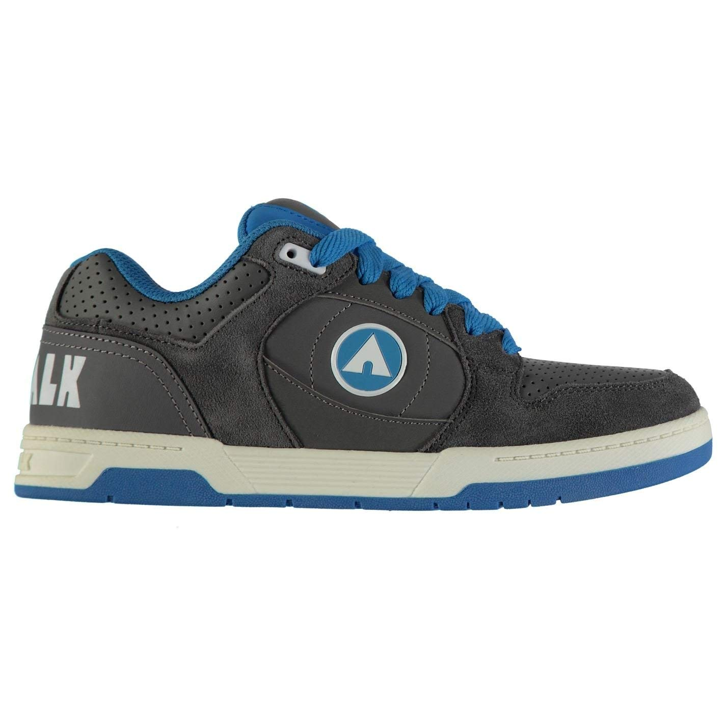 Get Quotations · Airwalk Kids Boys Throttle Junior Skate Shoes Lace up  Sports 03c5f51fc870