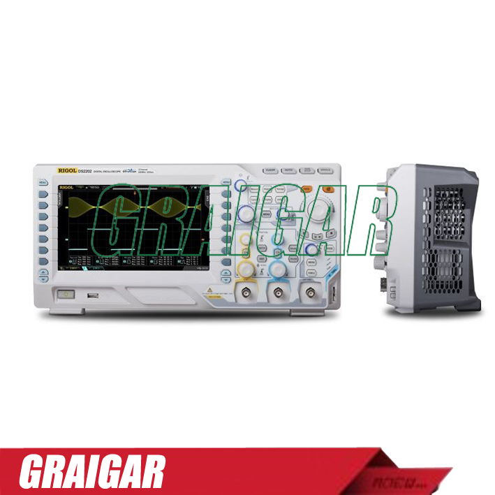 DS1074Z-S digital oscilloscope 70MHZ +25 MHZ, 2 channel signal source
