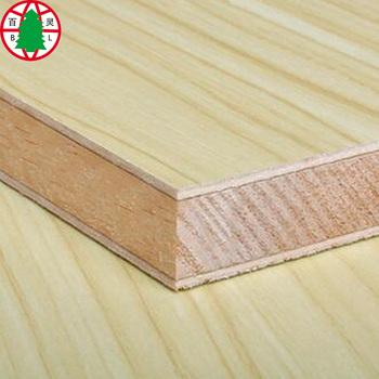 Block Board Laminated Wood With Mdf Hdf