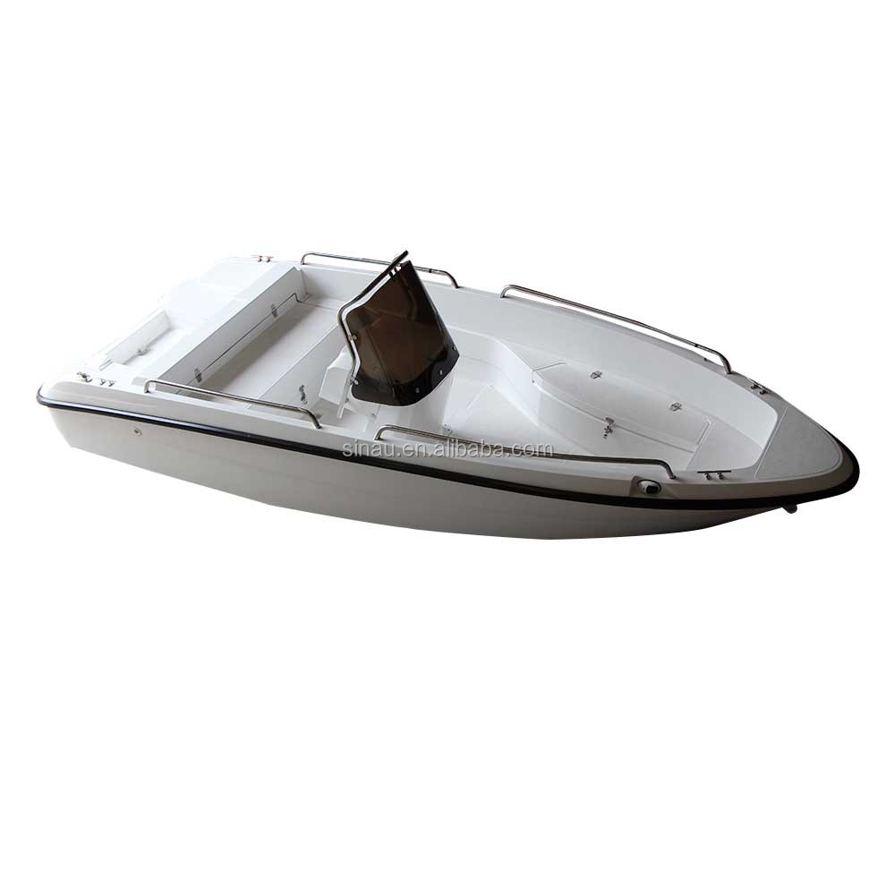 Manufacturer Direct Low Price New Small Sport Center Console Fiberglass Fishing Boat