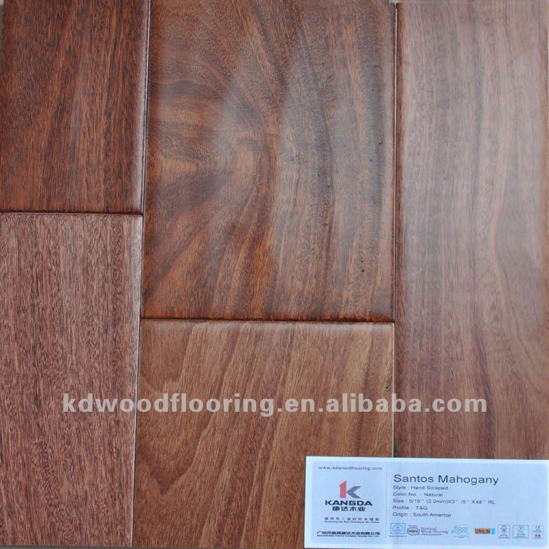 Santos Mahogany Stained Multilayer Engineered Wood Flooring Buy