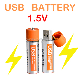 1.5V AA Rechargeable USB Automotive Battery Products Lithium Battery
