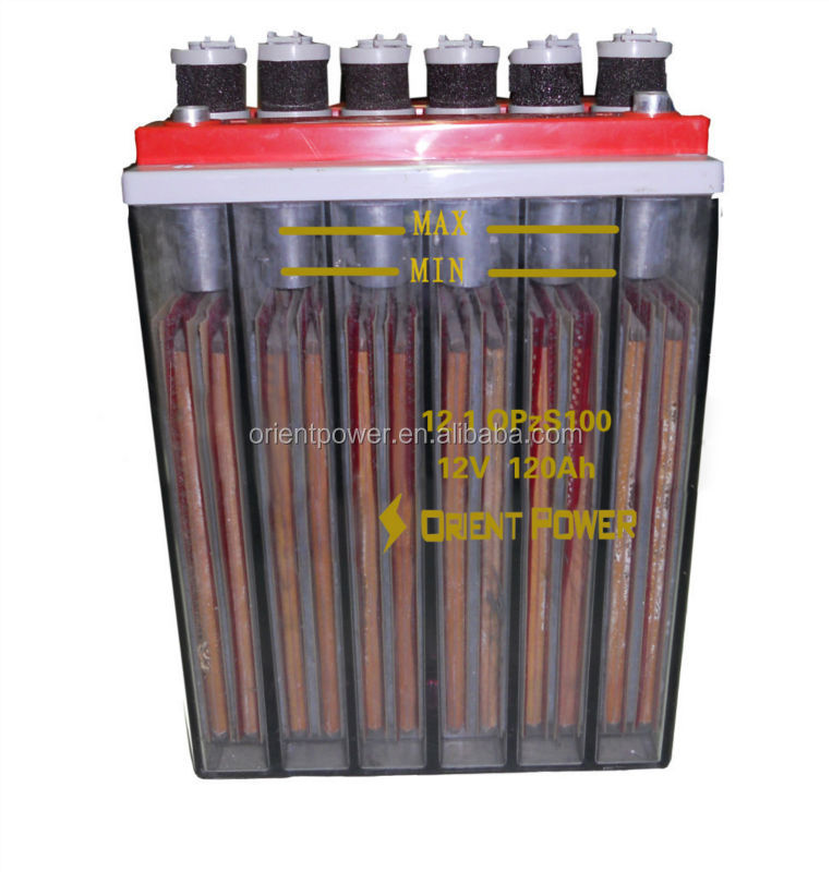 Lead Acid Solar Tubular plate OPZS battery 2v 2000ah batteries