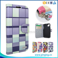 PinJun Wholesale Color Printing Flip Wallet Case For Samsung Galaxy Amp Prime