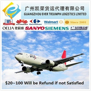 China freight forwarder in Guangzhou Shenzhen Air cargo shipping to Nigeria