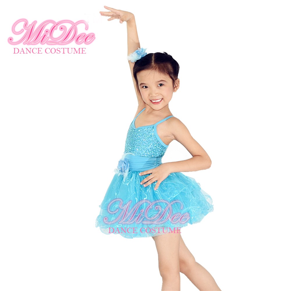 Kids Weding Flower Dresses Ballet Dress Up Costume Party Dresses For ...