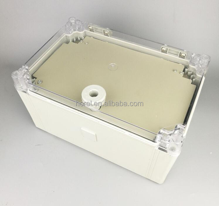 Strict 80*160*55mm Transparent Cover Ip66 Abs Plastic Electronic Switch Box 160*80*55mm Can Be Used With Connectors Lighting Accessories