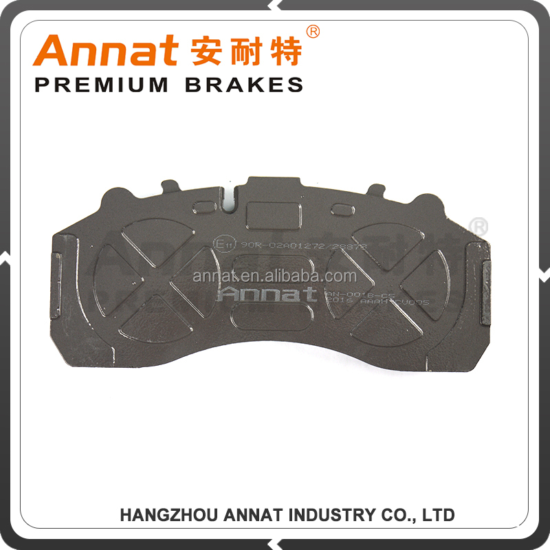WVA29126 OE NO. 1628064 high quality brake pads for DAF LF 55 truck parts