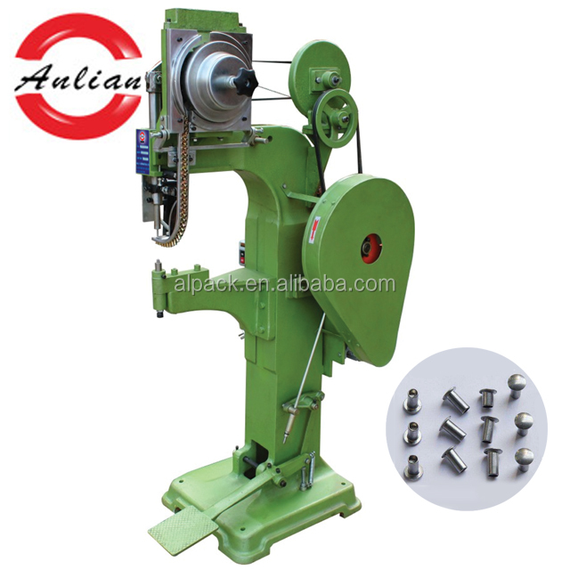 Pneumatic office chair T-Nut four claws riveting machine (Anlian machinery )