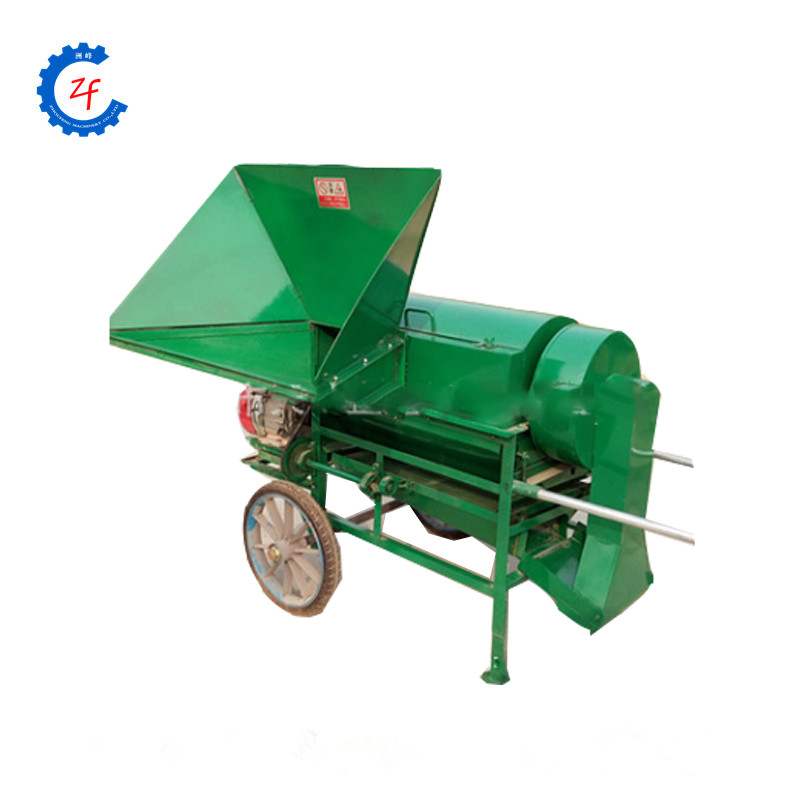 small threshing machine for sesame, wheat, rice, soybean and rapeseed with low damage