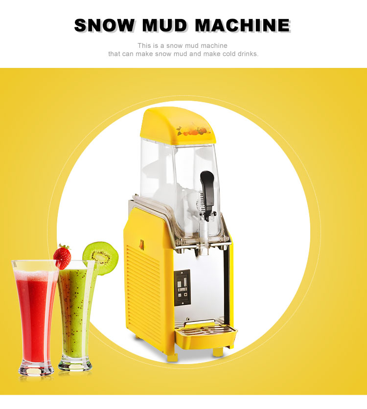 Slush Eismaschine Gefrorenes Getränk Machine Made in China