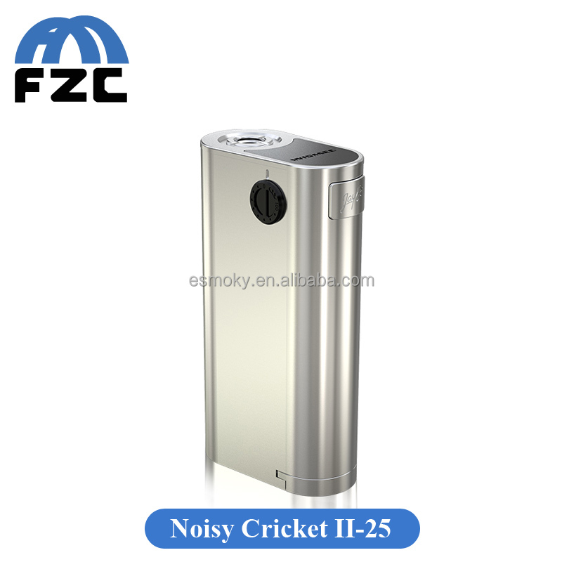 Wismec Updated Version of Noisy Cricket Mod Noisy Cricket II D25 Multiple Circuit Protection Systems Noisy Cricket II-25