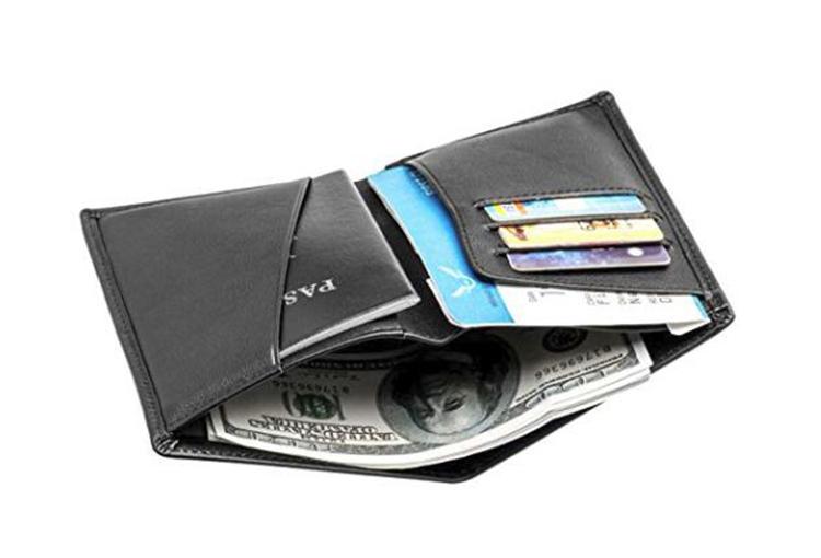OEM/ODM การส่งเสริมการขาย pu กระเป๋าสตางค์หนัง