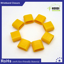 PlastiC closure for Festival*factory pRomotion gifts wristband Snap closure*plastic locK wristband