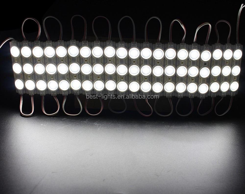 12v dc white 5050 smd led module, 0.72Watt for channel letters and box signs UL approved e242985