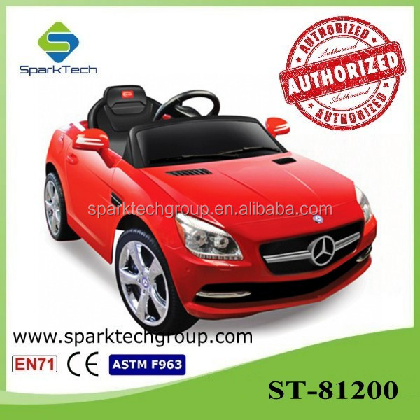 Licensed Mercedes-Benz SLK Radio Control/Battery Operated Smart Kid Car Toy Baby Toys on Cars 2016
