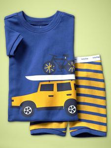 Wholesale Boutique Children Clothing Name Brand Print Sets Free Shipping