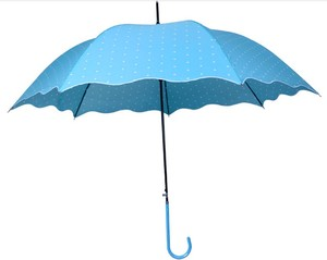 Top quality 27inch spring umbrella with crook handle