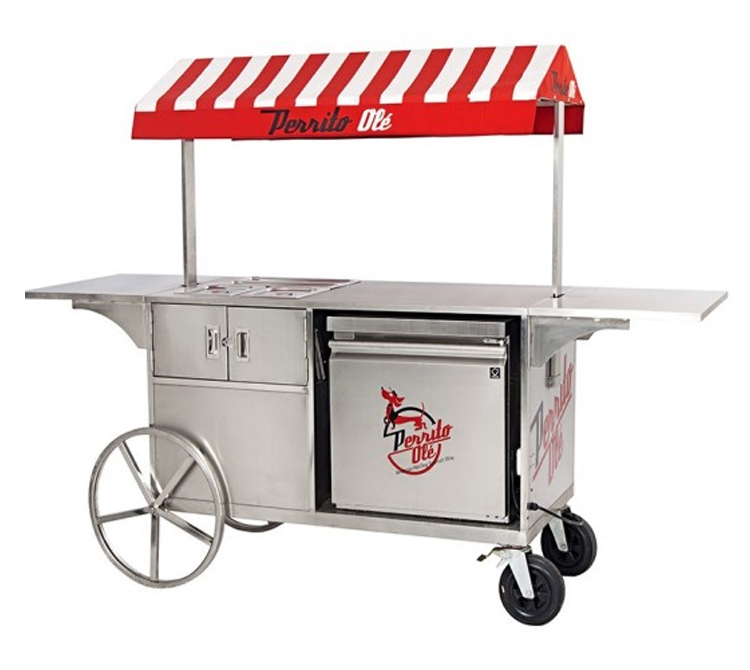Street mobile vending kitchen truck fast food trailer/food cart